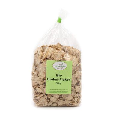 Bio Dinkel Flakes von der Schustermühle