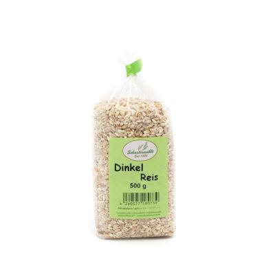 Dinkel Reis von der Schustermühle